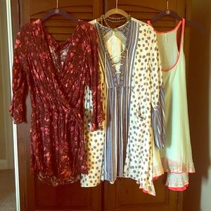 Limited time! Free People bundle! Size M!